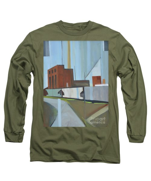 Paperboard Factory Bogota Nj Long Sleeve T-Shirt by Ron Erickson