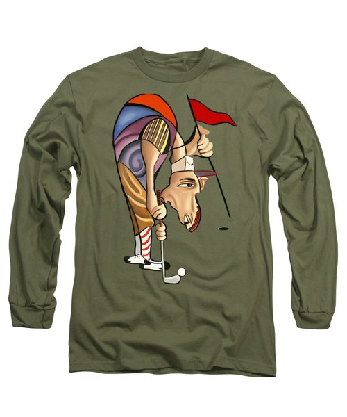Par For The Course T-shirt Long Sleeve T-Shirt