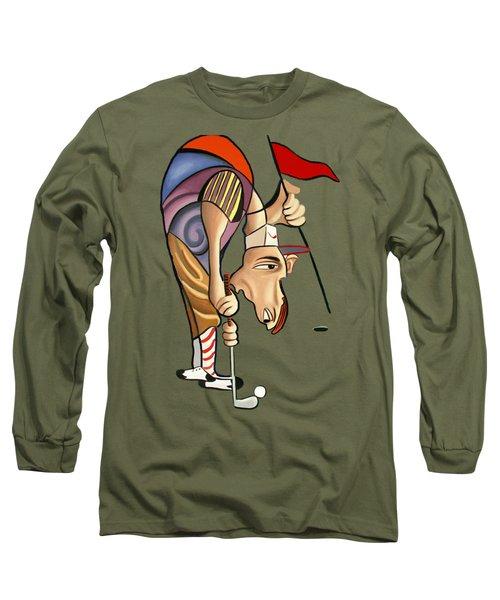 Par For The Course T-shirt Long Sleeve T-Shirt