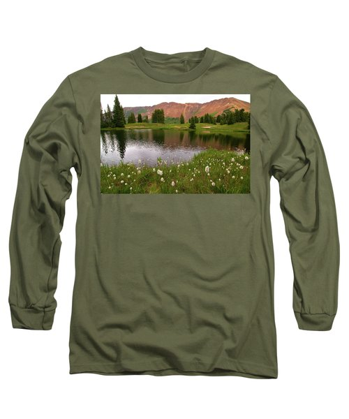 Long Sleeve T-Shirt featuring the photograph Paradise Basin by Steve Stuller