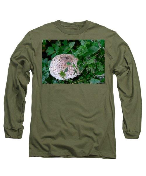 Parasol Mushroom 1  Long Sleeve T-Shirt