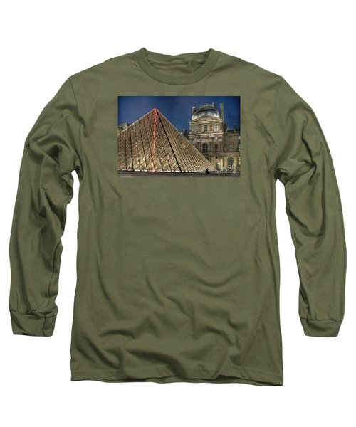 Paris Louvre Long Sleeve T-Shirt