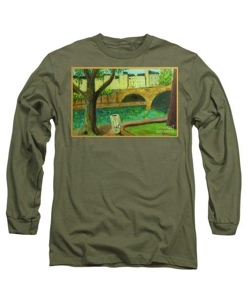 Paris Rubbish Long Sleeve T-Shirt