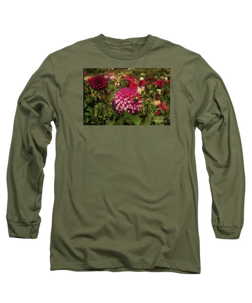 Park Blossoms  Long Sleeve T-Shirt