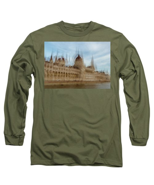 Long Sleeve T-Shirt featuring the photograph Parliamentary Procedure by Alex Lapidus