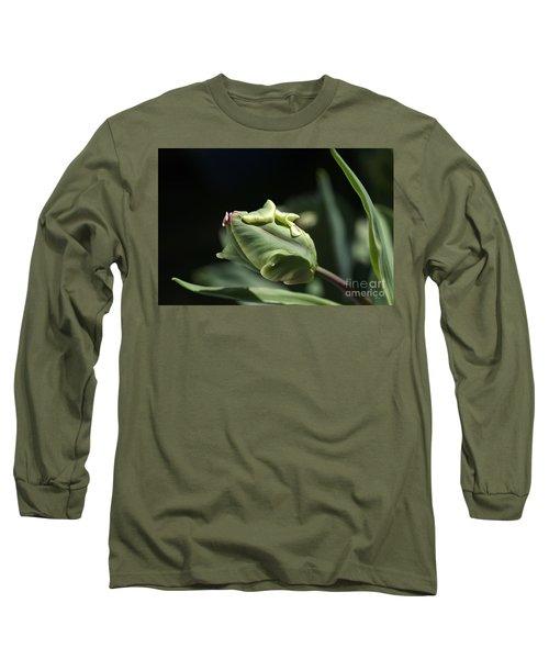 Parrot Tulip Bud Long Sleeve T-Shirt