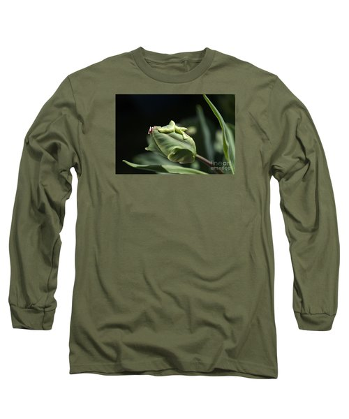 Parrot Tulip Bud Long Sleeve T-Shirt