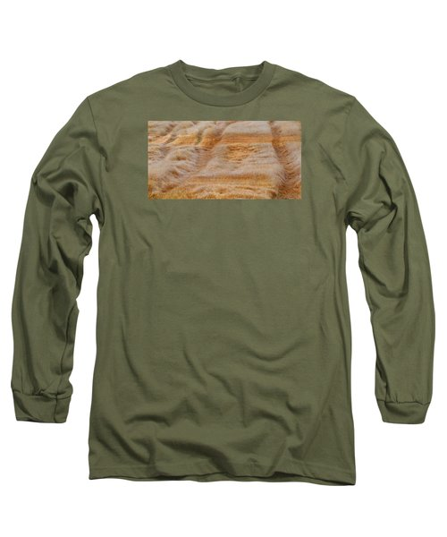 Long Sleeve T-Shirt featuring the photograph Part Of The Field 2  by Lyle Crump