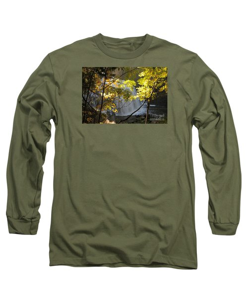 Long Sleeve T-Shirt featuring the photograph Partridge Falls II by Sandra Updyke