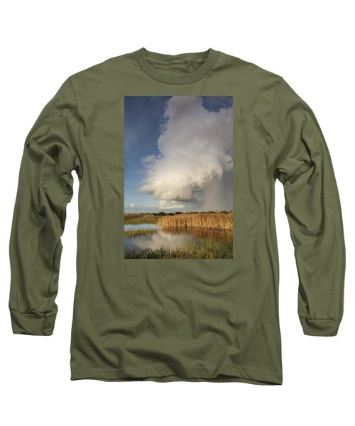 Passing Late Afternoon Rain Shower Long Sleeve T-Shirt