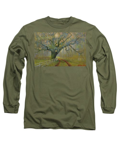 Passing Spring Shower Long Sleeve T-Shirt by Blue Sky