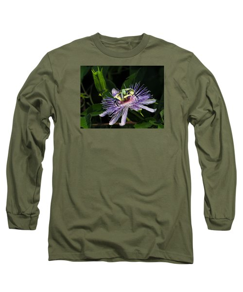 Passion Flower Long Sleeve T-Shirt