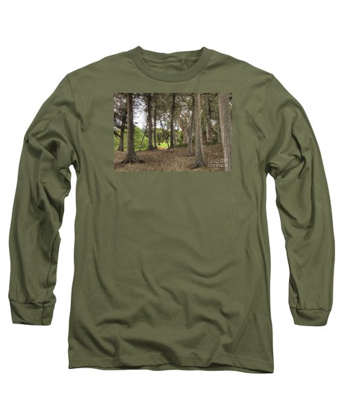 Past The Beach And Through The Trees Long Sleeve T-Shirt