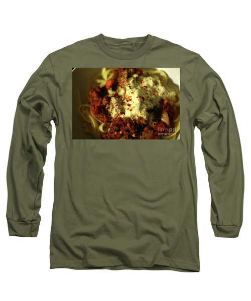 Pasta Long Sleeve T-Shirt