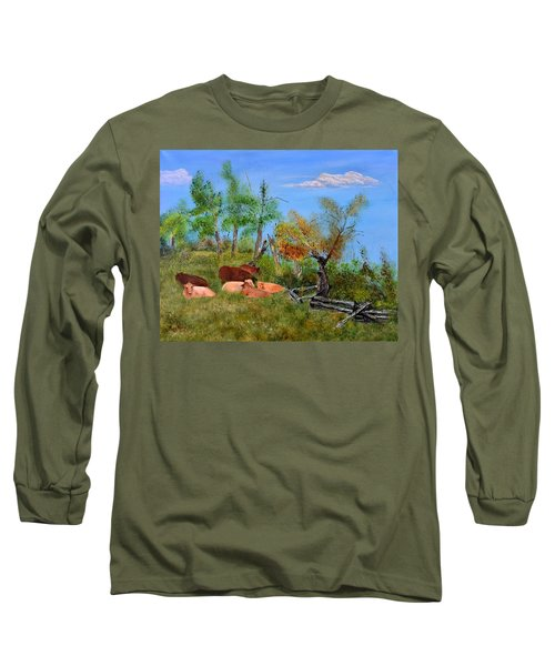 Pasteurized Long Sleeve T-Shirt