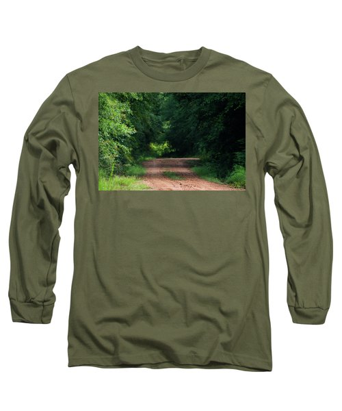 Long Sleeve T-Shirt featuring the photograph Path Of Light Horizontal by Shelby Young
