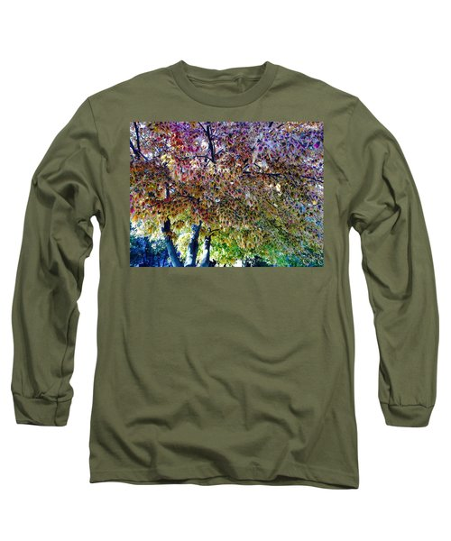 Patterned Metamorphosis Long Sleeve T-Shirt
