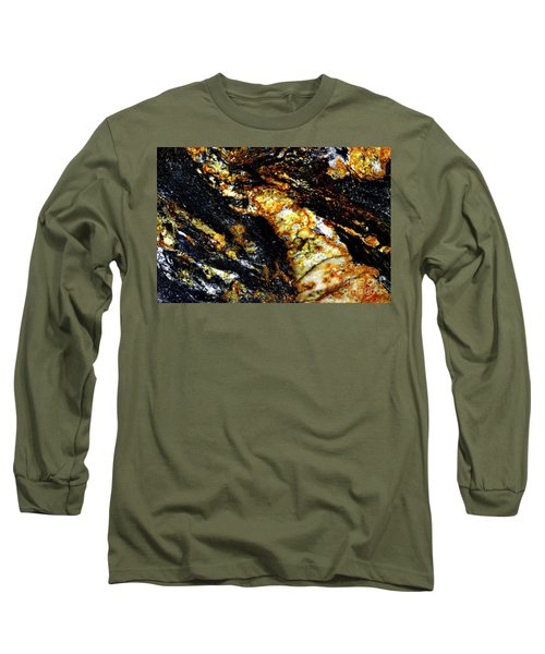 Long Sleeve T-Shirt featuring the photograph Patterns In Stone - 190 by Paul W Faust - Impressions of Light