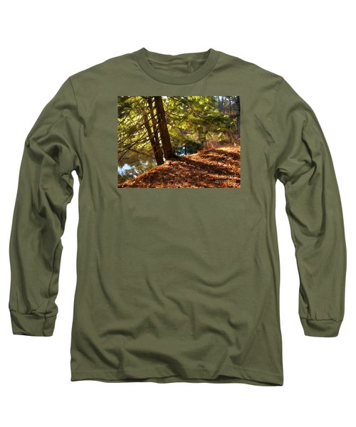 Long Sleeve T-Shirt featuring the photograph Peace On Earth by Betsy Zimmerli
