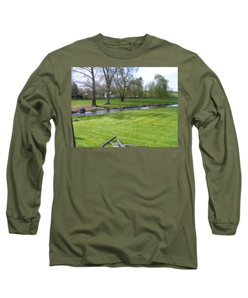 Peaceful Long Sleeve T-Shirt by Adam Cornelison