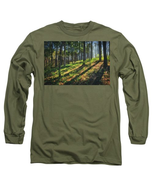 Peaceful Forest 4 - Spring At Retzer Nature Center Long Sleeve T-Shirt by Jennifer Rondinelli Reilly - Fine Art Photography