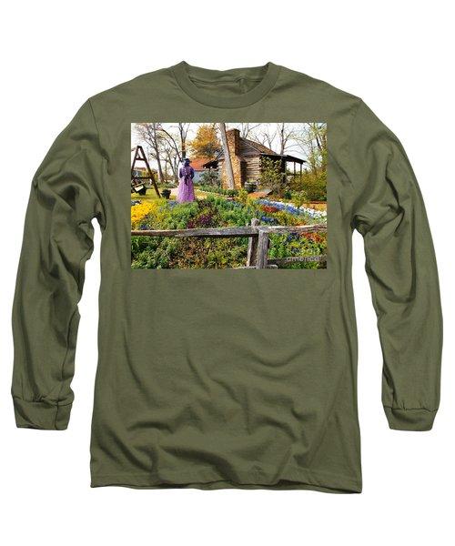 Peaceful Garden Walk Long Sleeve T-Shirt