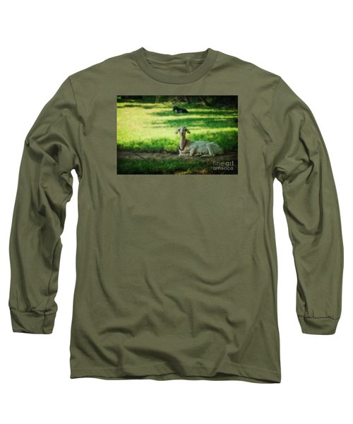 Peaceful Pasture Long Sleeve T-Shirt