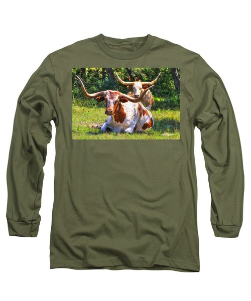 Peaceful Weapons Long Sleeve T-Shirt