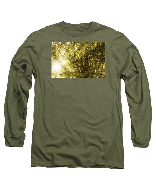Peaceful Woods Long Sleeve T-Shirt