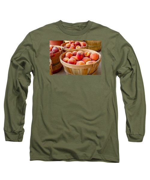 Peach Harvest Long Sleeve T-Shirt