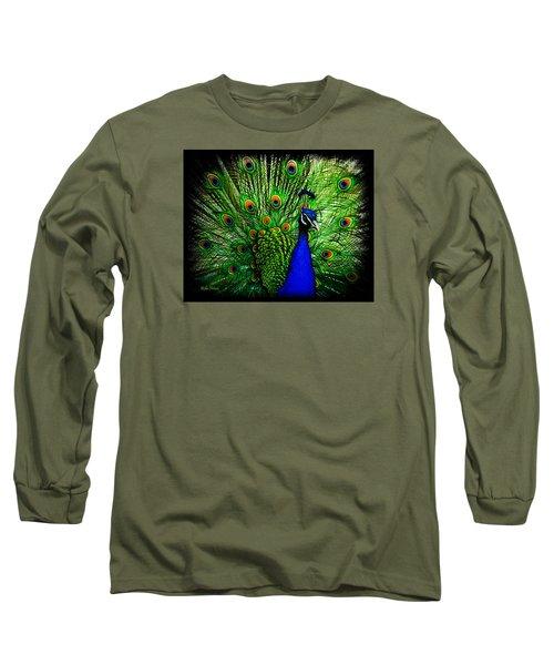 Peacock Paradise Long Sleeve T-Shirt