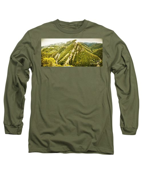 Peaks And Troughs Long Sleeve T-Shirt
