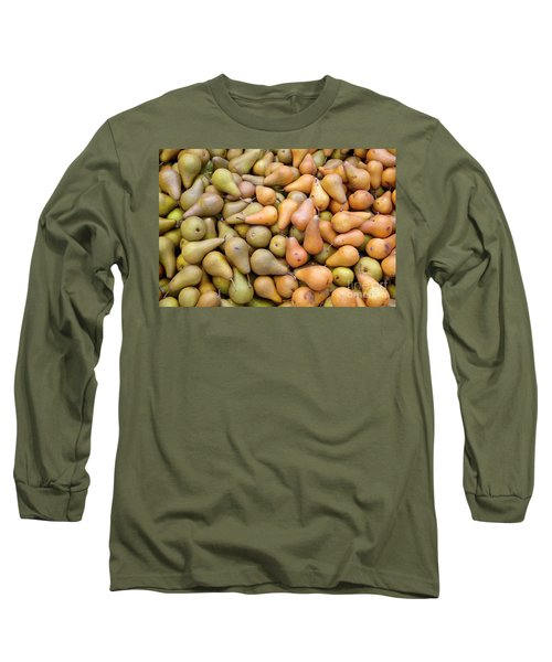 Pears At The Harvest Long Sleeve T-Shirt
