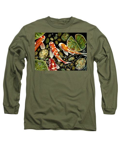 Pebbles And Koi Long Sleeve T-Shirt
