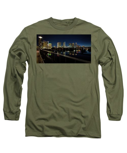 Pedestrian Bridge View Long Sleeve T-Shirt