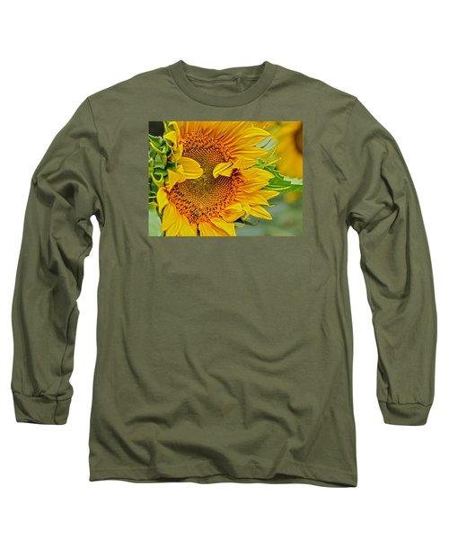 Peek A Boo Long Sleeve T-Shirt by Joanne Brown