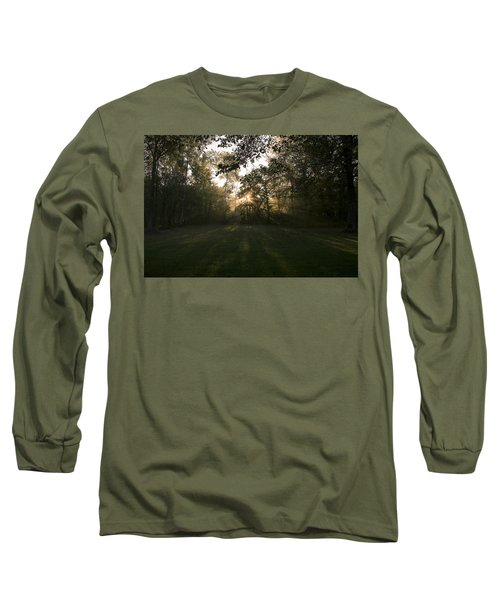 Long Sleeve T-Shirt featuring the photograph Peeking Through by Annette Berglund