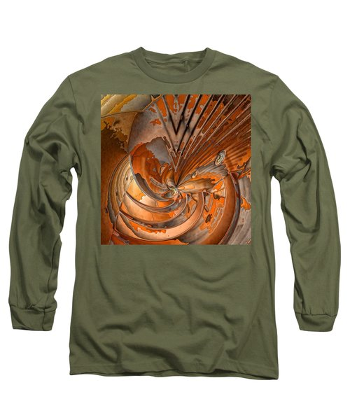 Peeled Long Sleeve T-Shirt by Ron Bissett
