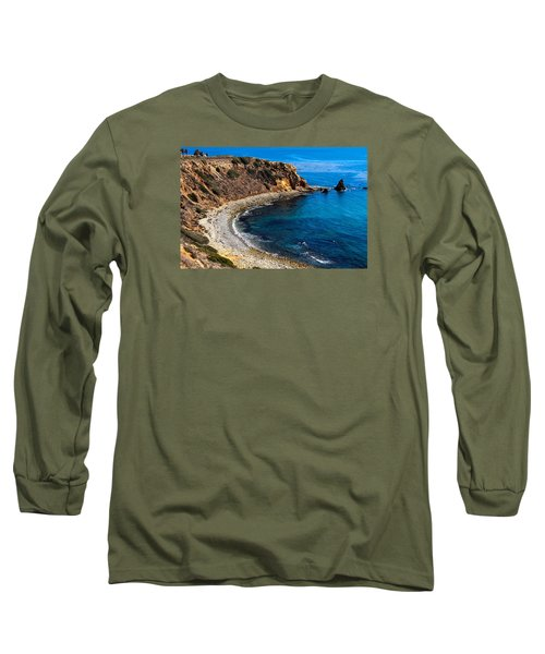 Pelican Cove Long Sleeve T-Shirt by Ed Clark