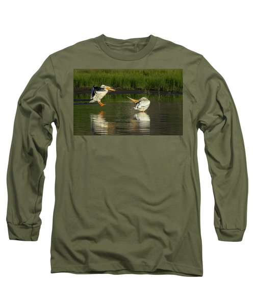 Pelicans 2 Long Sleeve T-Shirt