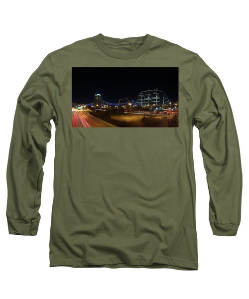 Penn's Landing Long Sleeve T-Shirt by Leeon Pezok