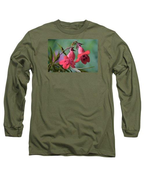 Penstemon Long Sleeve T-Shirt by Terence Davis