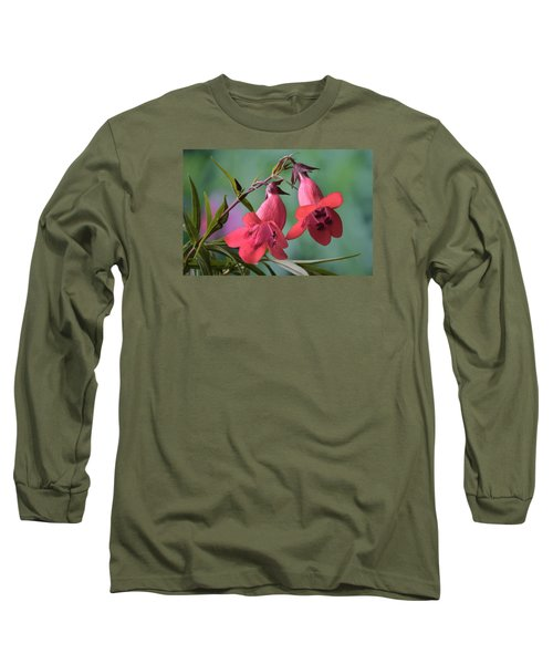 Penstemon Long Sleeve T-Shirt