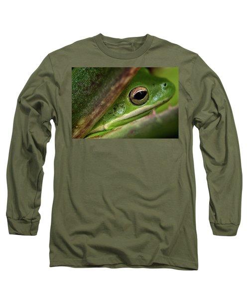 Frogy Eye Long Sleeve T-Shirt