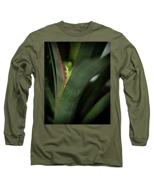 Perching With Comfort Long Sleeve T-Shirt
