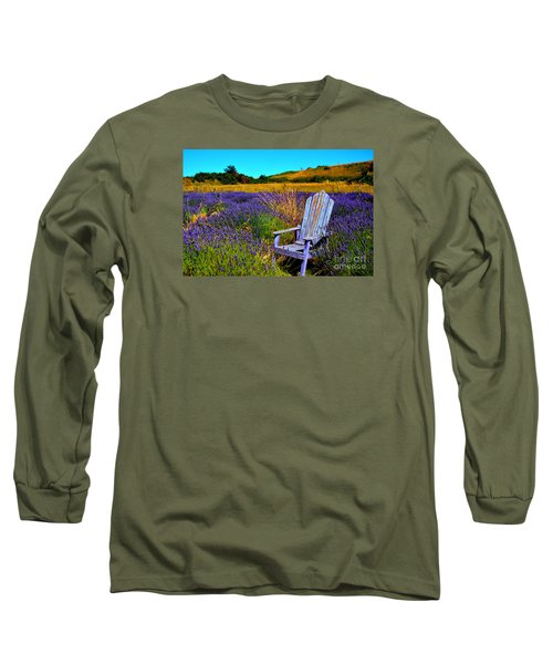 Long Sleeve T-Shirt featuring the photograph Perfect Purple  by Tanya  Searcy