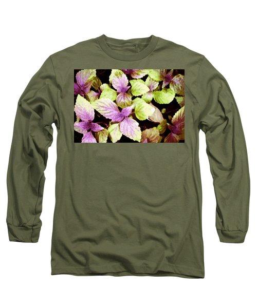 Perilla Beauty Long Sleeve T-Shirt by Winsome Gunning