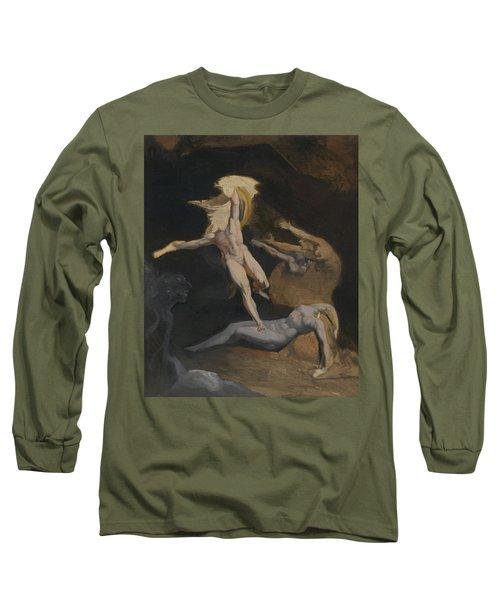 Perseus Slaying The Medusa Long Sleeve T-Shirt