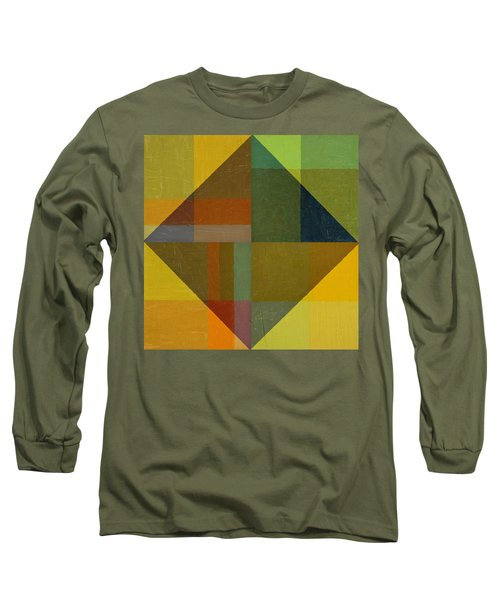 Perspective In Color Collage 8 Long Sleeve T-Shirt