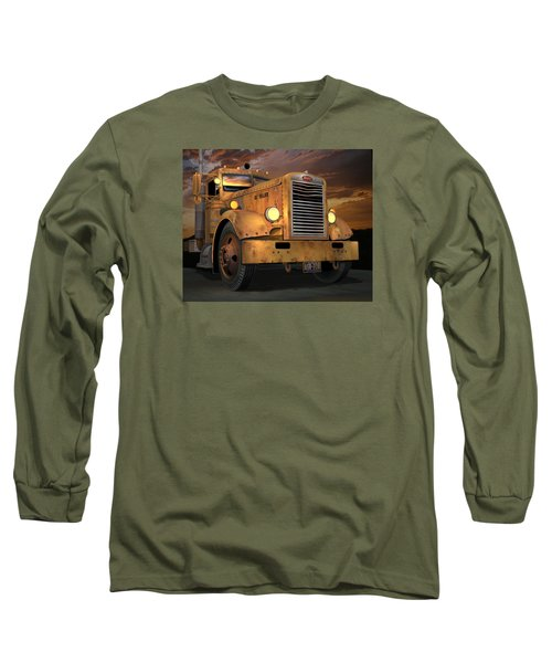 Peterbilt Ol Yeller Long Sleeve T-Shirt